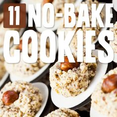 11 No-Bake Cookies- delicious cookies without the hassle.