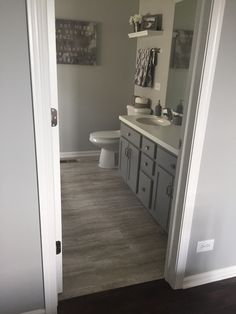 Bathroom Wall Colors With Grey Vanity