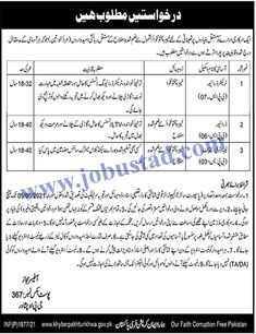 A public sector organization is seeking for suitable candidates to fill the Today Government Jobs 2021 through PO Box 367 GPO Peshawar. In these Govt Jobs in KPK 2021, male/female candidates from across the region can apply. Only literate persons are eligible to apply for these Public Sector Jobs. The upper age limit is 18-32 years for Tractor Driver and 18-40 years for other Jobs in Pakistan.