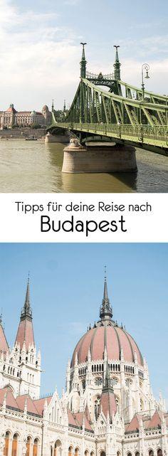 Budapest ist für mich eine der schönsten europäischen Städte. Das liegt wohl einerseits an den faszinierend Bauwerken die sich so schön an die Donau schmiegen und ein bisschen aussehen wie das Hogwarts meiner Träume und andererseits auch an den vielen coolen Restaurants und Bars, die man überall in der Stadt findet. Visit Budapest, Budapest Travel, Travel Destinations, Travel Tips, Reisen In Europa, Girls Weekend, Hungary, Travel Inspiration, Taj Mahal