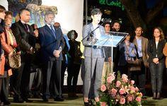 """Pilar Campillejo, presidenta de """"Tierras de Cerámica"""", pronunció un pregón de Mondas con el símbolo de nuestra cerámica - 45600mgzn"""