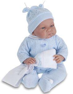 Кукла Нико в голубом, озвученная, 40 см. (Antonio Juan Munecas, 3359B) купить в…