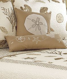 Sea Treasures Shells Pillow