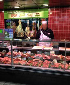 #Boucher #Boucherie Les carcasses mis en avant #Intermarché