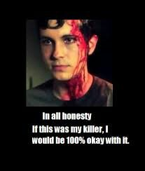 I am totally ok with Toby killing me.