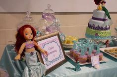 Claire's Ariel Party  | CatchMyParty.com