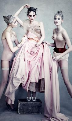 Fashion Magazine Editorial | Vogue UK | Patrick Demarchelier for Dior