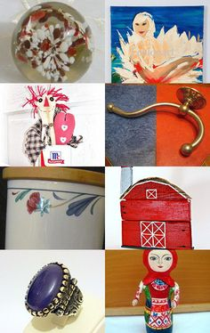 JULY FOURTH PREVIEW................Gratitude Treasury by Pat Peters on Etsy--Pinned with TreasuryPin.com