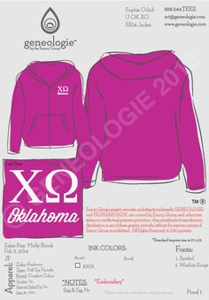 Oklahoma Chi Omega spring break jacket #chio #tshirt #greek #sorority #pink