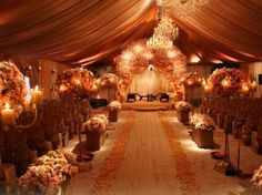 wedding aisle decor! <3