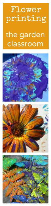 I love flower printing with the kids - such a beautiful way to combine playing outdoors, nature and art. Ever tried it?