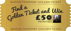 Congratulations to Hazel Nicholls from Taunton, one of our Golden Ticket winners! With a chance to WIN £50 every week, why not book your tickets now at http://www.tram.co.uk/ ‪#‎GoodLuck‬!
