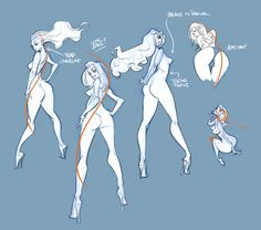 ✤ || CHARACTER DESIGN REFERENCES | キャラクターデザイン | çizgi film • Find more at https://www.facebook.com/CharacterDesignReferences & http://www.pinterest.com/characterdesigh if you're looking for: #line #of #action #animation #how #to #draw #drawing #tutorial #lesson #balance #power #lines #sketch #gesture #anatomy #body #rhythms #line #art #capturing #motion #comics #movement #tips #cartoon || ✤