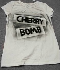 Cherry Bomb Shirt, Joan Jett-The Runaways