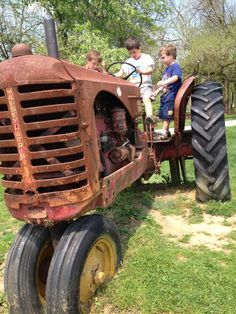 Old tractor at SpringHouse Farms