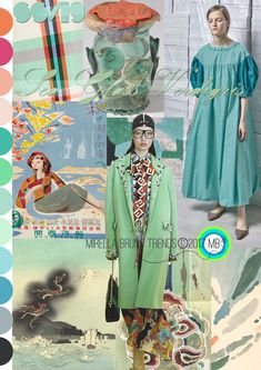 Sea Glass Verdigris SS/19 - Mirella Bruno Print Pattern and Trend Designs. trends, Fashion, Interior, Color, Design, Kids, Pattern, Print, Summer, 2020, moodboard, ideas, ss19, 2019, spring, autumn, Winter, 2018, Insight, Floral, Accessories, Fashion Show, Beauty, board, Layout, Inspiration, Ss18, Mood Boards, Spring Summer, Color Patterns, Colour Palettes, Style #colorpatterns #colourpalettes #print #pattern #trends #2019 #2018 #design #moodboards