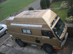 The Syncro's big bad brother is legal for import Vw Syncro, Volkswagen Transporter, Vw Bus, Trailers For Sale, Camper Trailers, Motorhome, Vw Lt 4x4, Offroad, 4x4 Camper Van