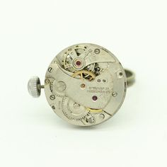 Steampunk Ring Watch Movement