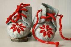 felt baby shoe - Google Search
