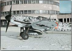 Messerschmitt Bf-109G-6R-6 (Red 29) of 1/JG302, Malmi Airfield, Finland - March 1944