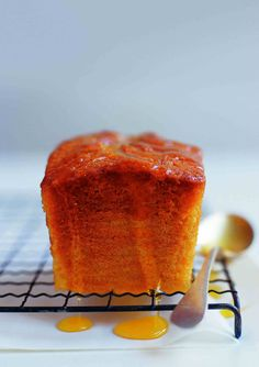 Orange drizzle cake - You'll need no excuse to whip up this zesty take on a classic sponge. It's perfect for every occasion, and the whole family will love it. There will only be crumbs left! Citrus Recipes, Orange Recipes, Sweet Recipes, Desert Recipes, Baking Recipes, Cake Recipes, British Bake Off, Cake Ingredients, Occasion Cakes