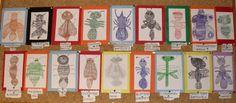 Ecole Primaire de Maillat - Les insectes en graphismes