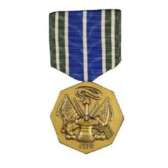 U.S. Army Achievement Medal . $14.24. This medal is made by a TIOH (The Institute of Heraldry) certified manufacturer and is authorized for wear by service members who have been awarded it.