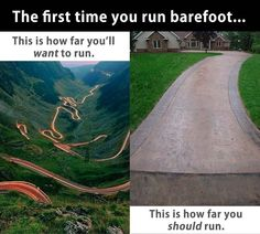 Barefoot running - paleo fitness! Tried it for the first time today, and I really enjoyed it. Barefoot Running Shoes, Going Barefoot, Paleo Protein Powder, Muscle Structure, Muscle Building Supplements, Running Club, Born To Run, Running Quotes, Running Inspiration