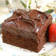 @NestleTollHouse #NestleTollHouse #NoBake #sweepstakes Favorite Chocolate Cake (Easy; 16 servings) #chocolate #cake