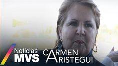 """Ana Teresa Aranda, consejera vitalicia del PAN platicó que en la marcha de ayer se encontraban entre 12 y 15 mil poblanos que pidieron la renuncia de Moreno Valle y explicó que el mensaje que manda el gobernador es """"soy tan fuerte y poderoso que nadie puede reclamarme"""" y los pobladores de Chalchihuapan se atrevieron a disentir, lo que causó la muerte del menor, José Luis por bala de goma y fue la gota derramó el vaso, para que se realizara la protesta."""