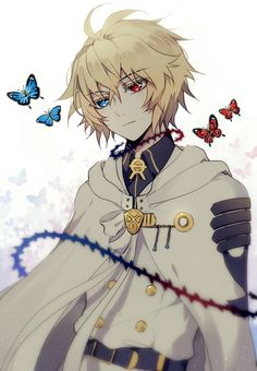 owari no seraph, anime, and mika image