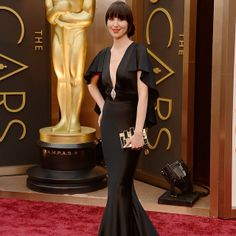 Karen O at the Oscars.