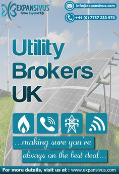 Expansivus is one of the leading utility brokers in the UK offering an incomparable commitment to provide excellent customer service..