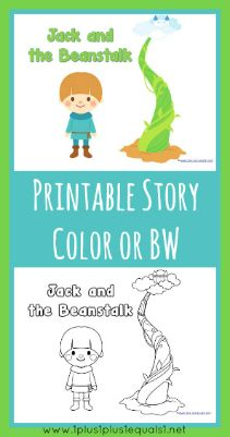 Jack and the Beanstalk Printables FREE  printables with a Jack & the Beanstalk theme!  Download the file below, if you have any trouble opening or printing the pdf file, see tips in this post!