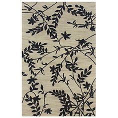 Rizzy Home Dimensions ' Hand Looped and Tufted - Beige and Black at HSN.com.