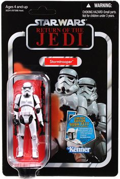 Vintage-Style Carded Stormtrooper (Return of the Jedi Card