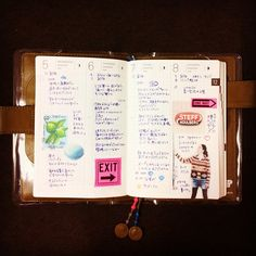 12/5-12/8 ほぼ日手帳。#hobonichi #ほぼ日手帳 #journal #diary