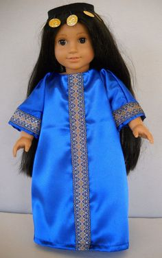 """Fits 18"""" American Girl doll  Persia Persian traditional dress  (COSTUME ONLY) #Handmade #ClothingShoes"""