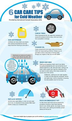Tips For Winter Driving Safety Cold Weather Car Tips Road Trip Tips Ski Vacations Roadtrip Road Safety Tips, Winter Car, Winter Tips, Winter Driving Tips, Winter Hacks, Car Facts, Car Care Tips, Car Essentials, Driving Safety