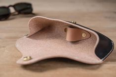 Black Hermann Oak Sunglasses and Glasses Case