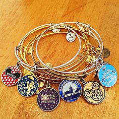 Alex and Ani bangle bracelets! Beauty and the beast is my favorite movie OR the Harry Potter Alex and ani's! Disney Style, Disney Trips, Disney Love, Disney Souvenirs, Disney Magic, Alex And Ani Bracelets, Bangle Bracelets, Necklaces, Alex And Ani Disney