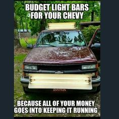 Took my Chevy to the Levy. Truck Quotes, Truck Memes, Funny Car Memes, Truck Humor, Funny Pugs, Trucks Only, Big Trucks, Chevy Trucks, Ford Humor