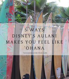 5 Ways Disney's Aulani Resort on Oahu in Hawaii Makes You Feel Like 'Ohana ~ Family!