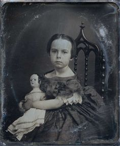 antique photo girl with izannah