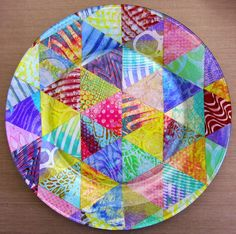 Printing with Gelli Arts®: Reverse Decoupage with Gelli® Plate Prints!
