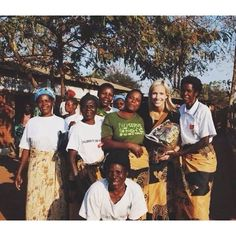 Getting to pick up products in person is the best. These women are a few of our craftsmen in Malawi and I adore them! - Lizzie #marketcolors
