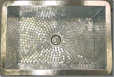 mosaic farmhouse sink.