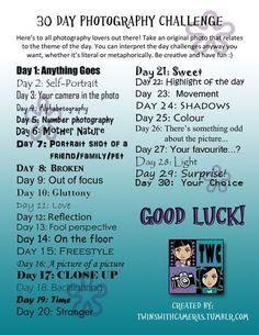 30 day photo challenge by margarita