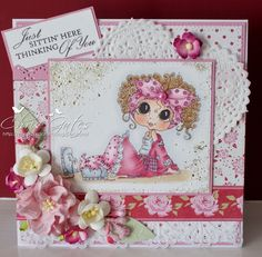 Love the colours in this card