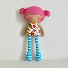 The home of My Teeny-Tiny Dolls®, My Little Dollys, CYSN Dolls and other cute softie toys. Tiny Dolls, New Dolls, Soft Dolls, Homemade Dolls, Operation Christmas Child, Sewing Dolls, Doll Crafts, Fabric Dolls, Doll Patterns